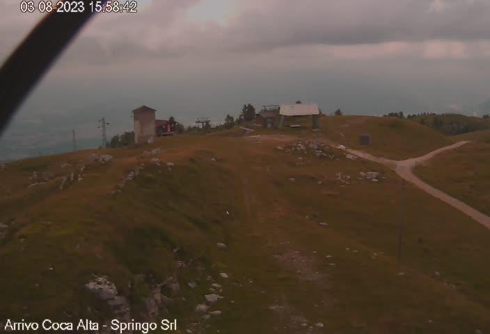 Webcam Nevegal arrivo seggiovia 1.600 m. (BL)